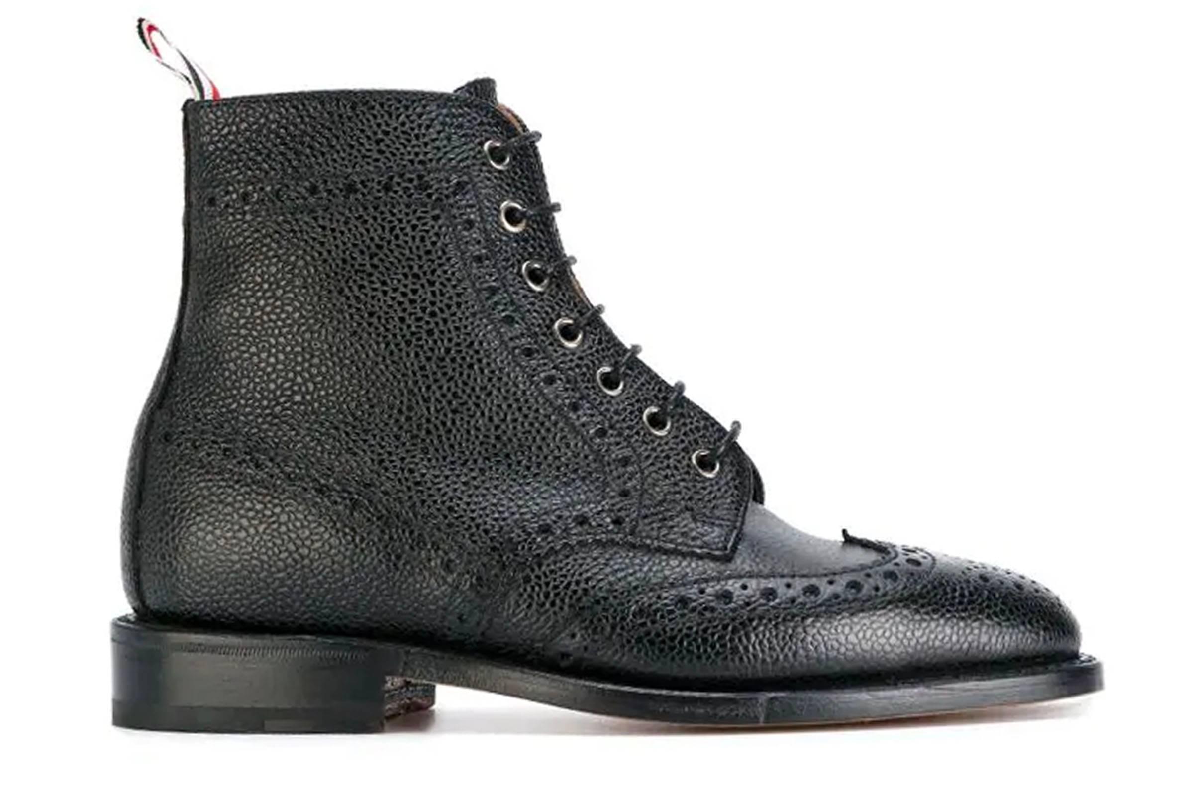 Thom Browne Wingtip Boots