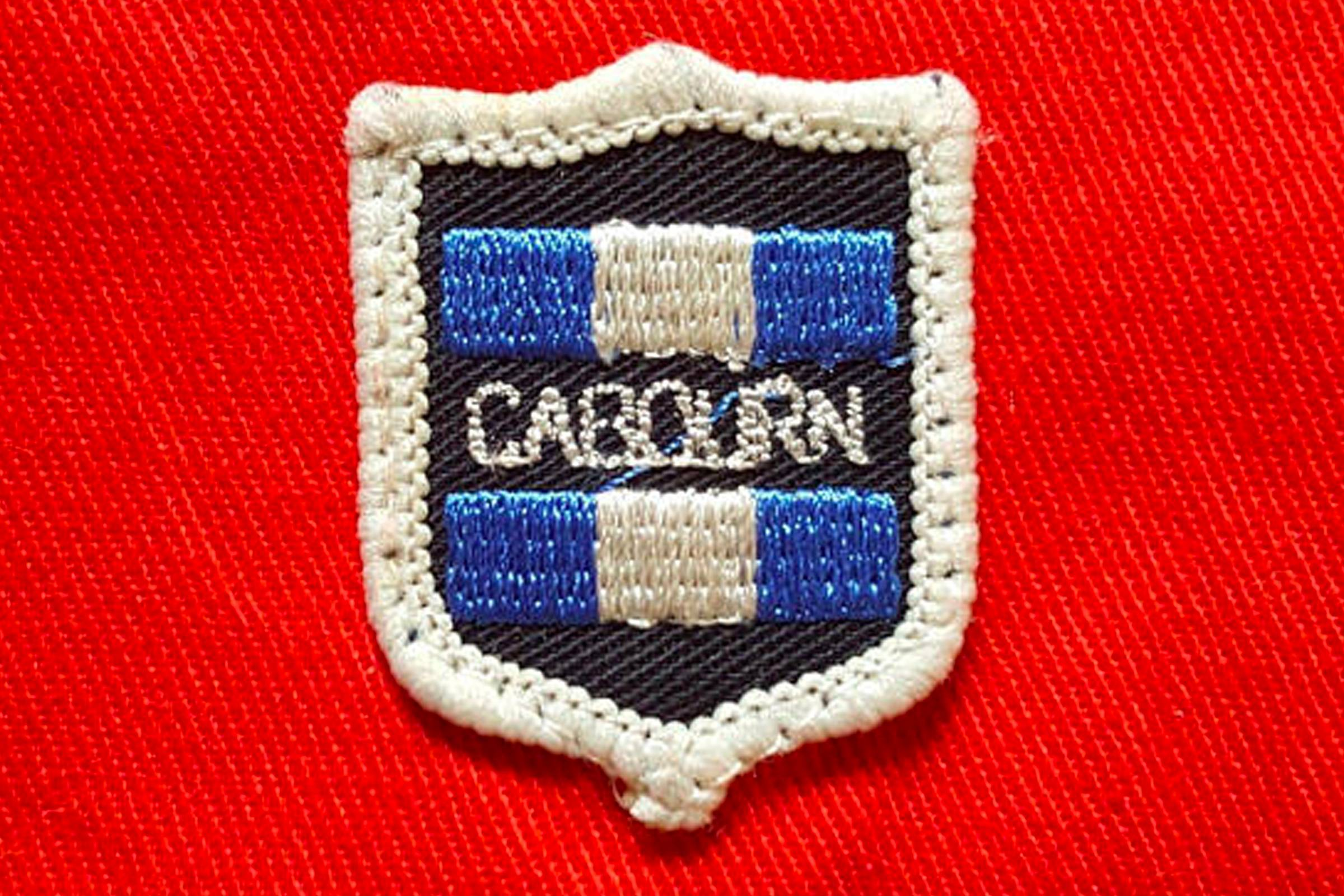 A Nigel Cabourn crest badge from sometime in the 1980s