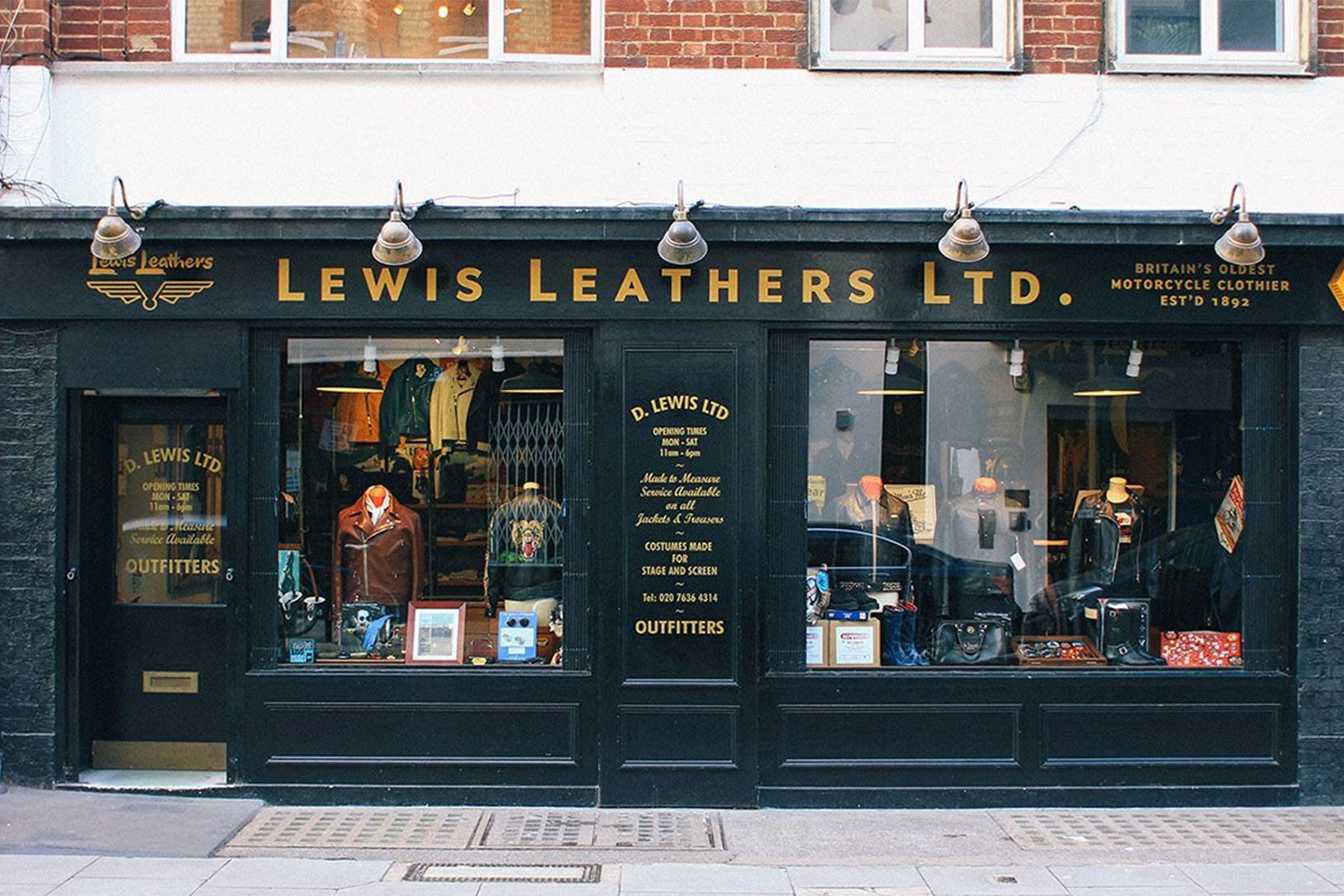 8f3d1add52 Britain s Oldest Motorcycle Company  A Brief History of Lewis Leathers