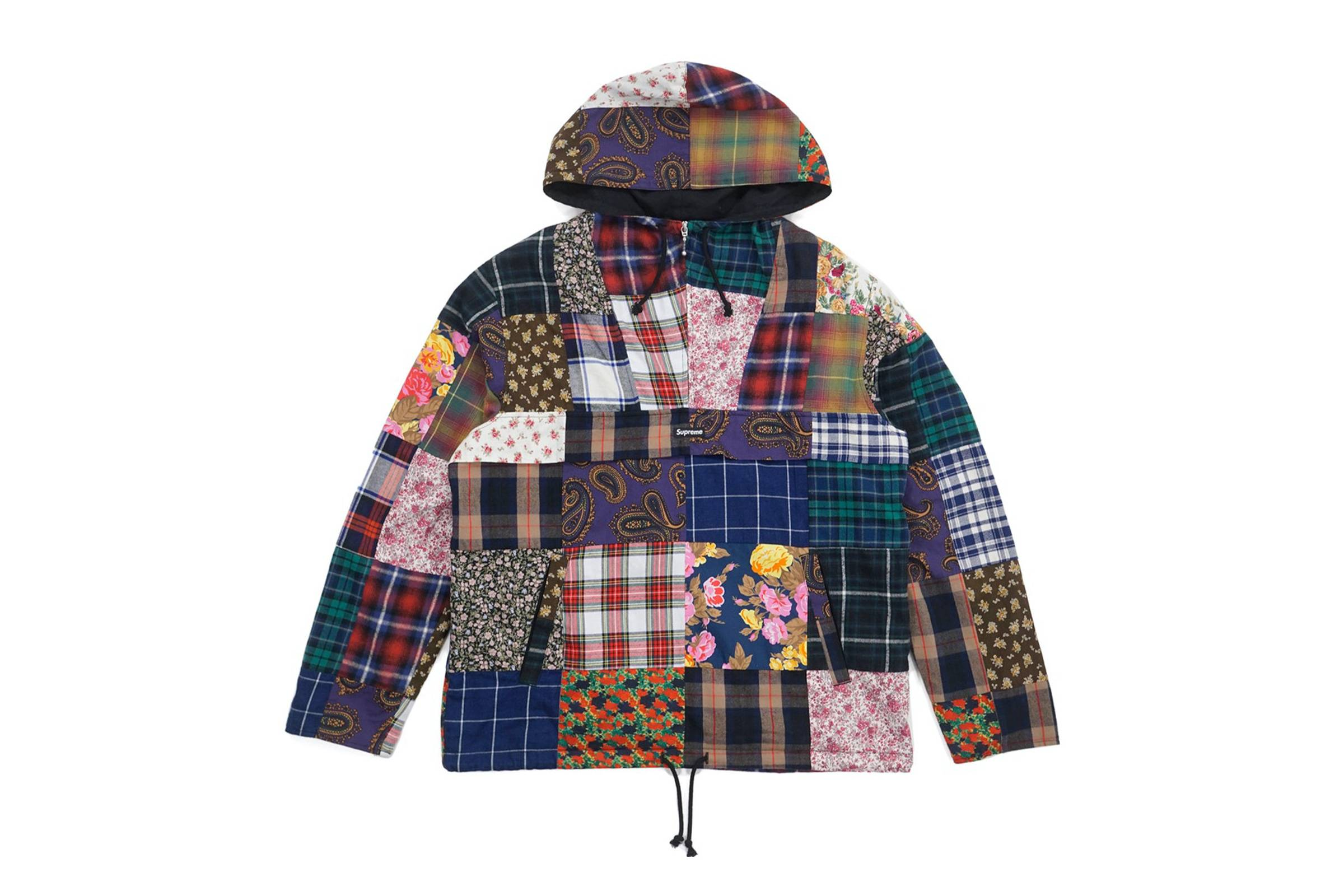 Supreme Fall/Winter 2016 Patchwork Jacket