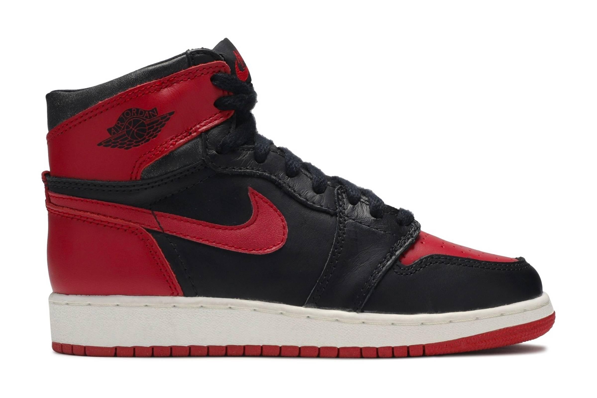"Jordan I ""Black/Red"""