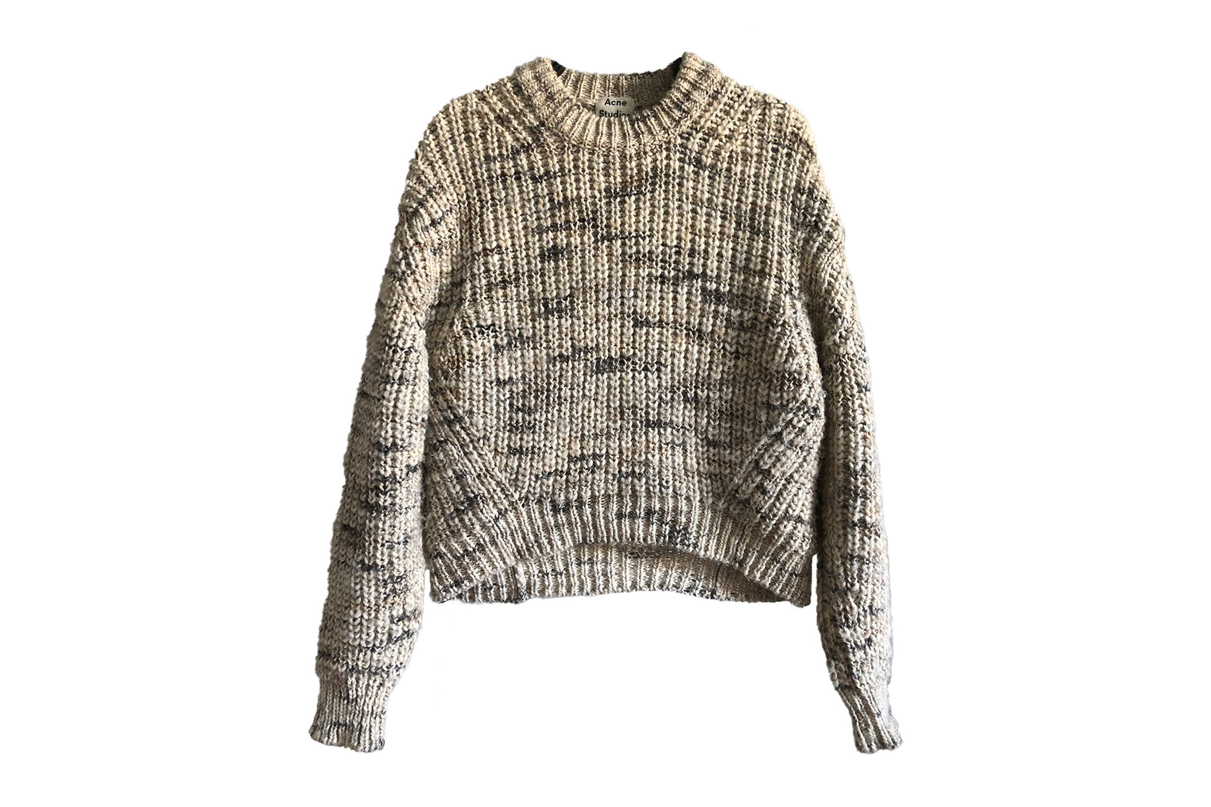 Acne Studios Spring/Summer 2018 Zora Knit Sweater