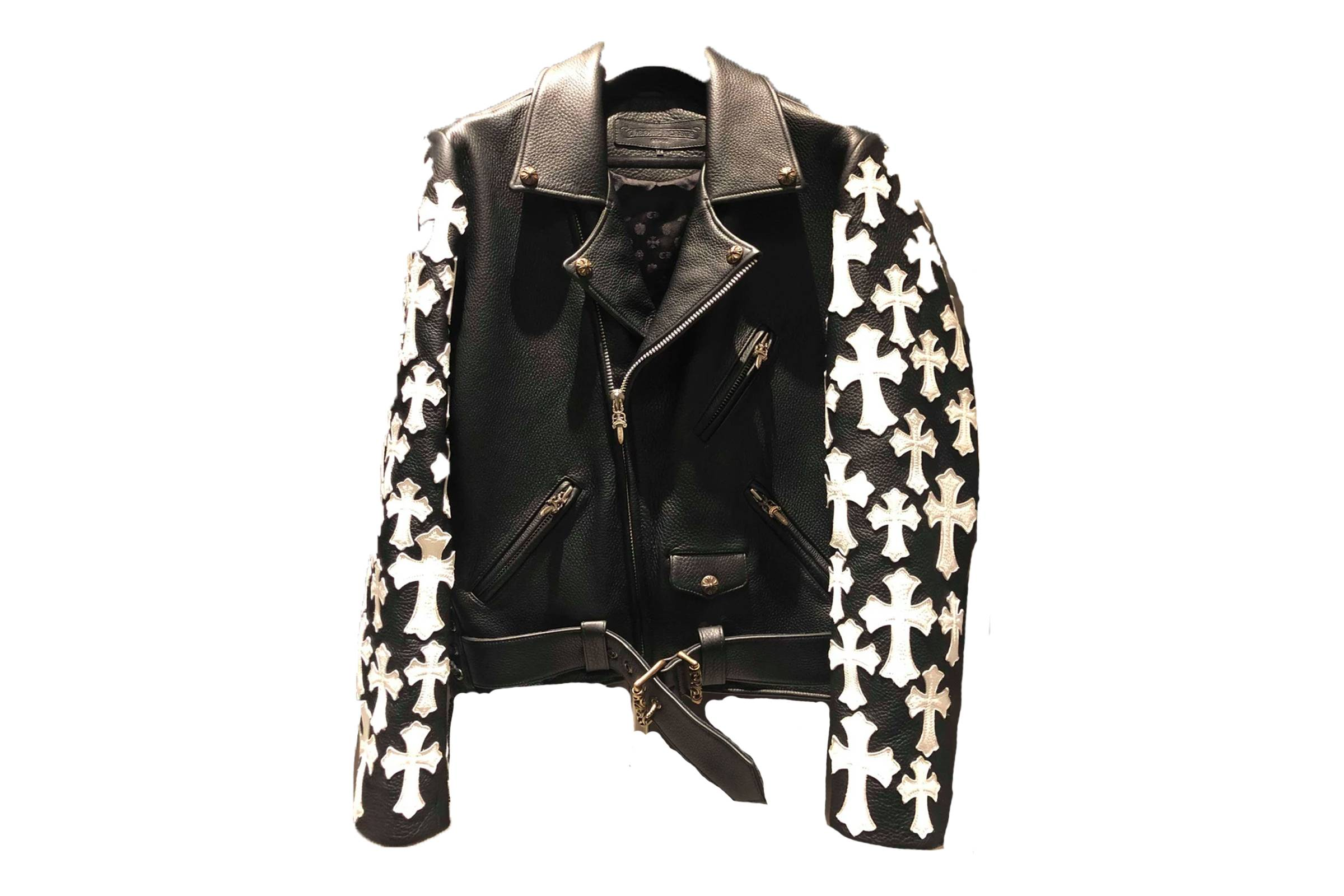 Chrome Hearts Special Order Leather Jacket (NY Exclusive)