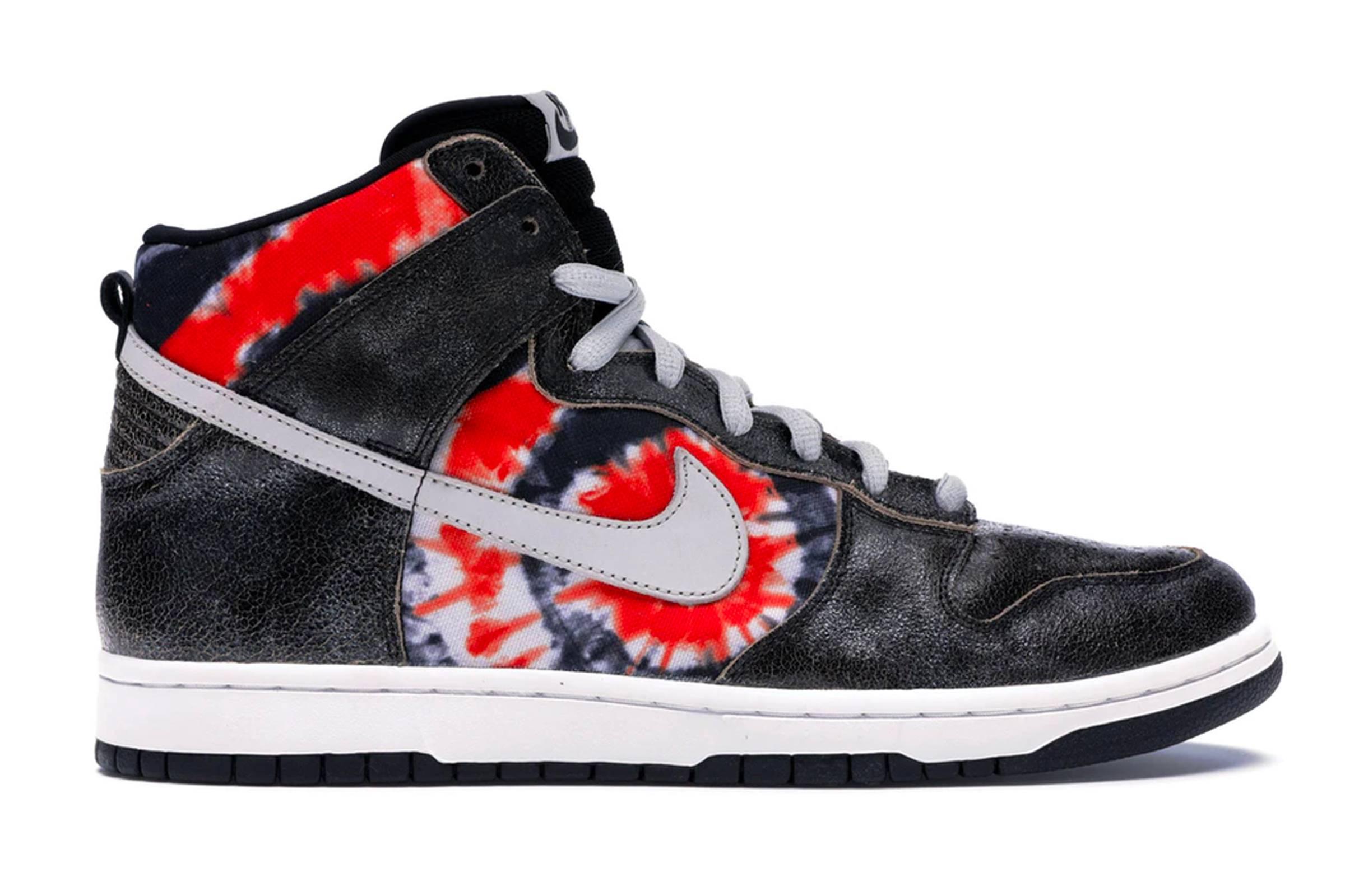 "Huf x Nike SB Dunk High ""Tie-Dye"""