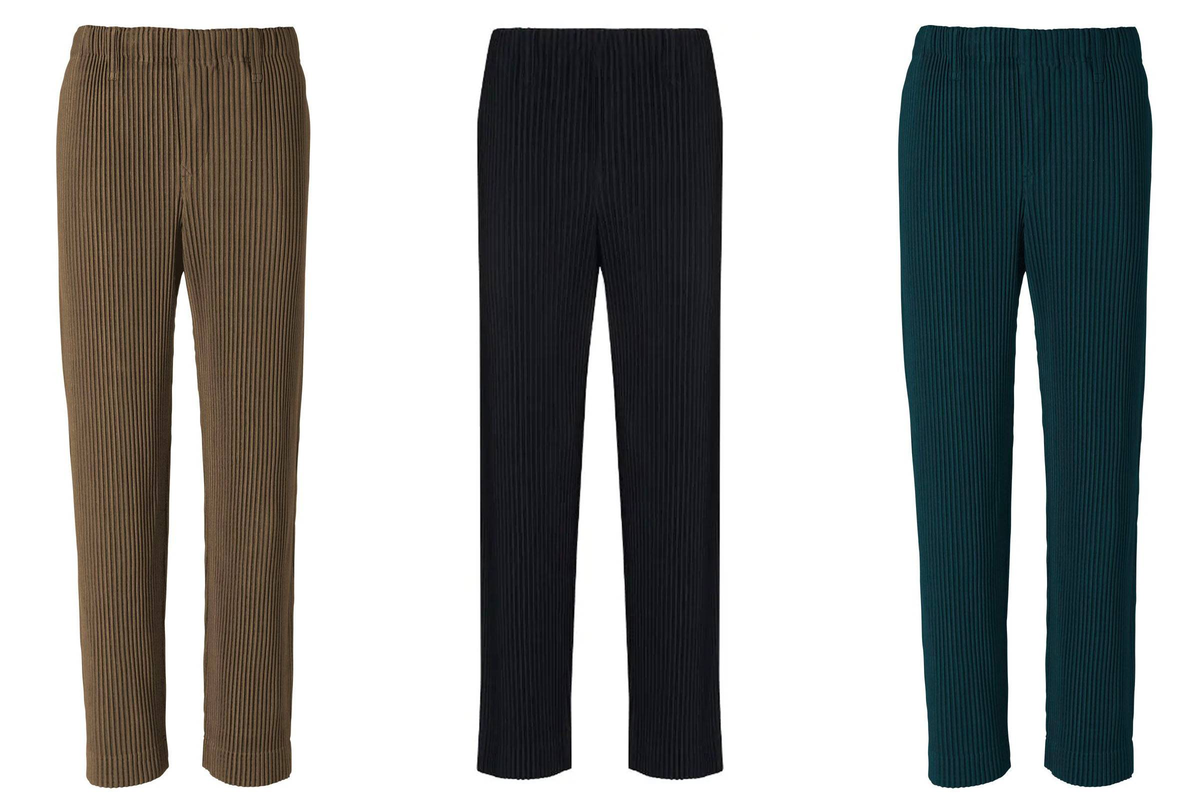 Bang for Your Buck: Homme Plissé Issey Miyake Trousers