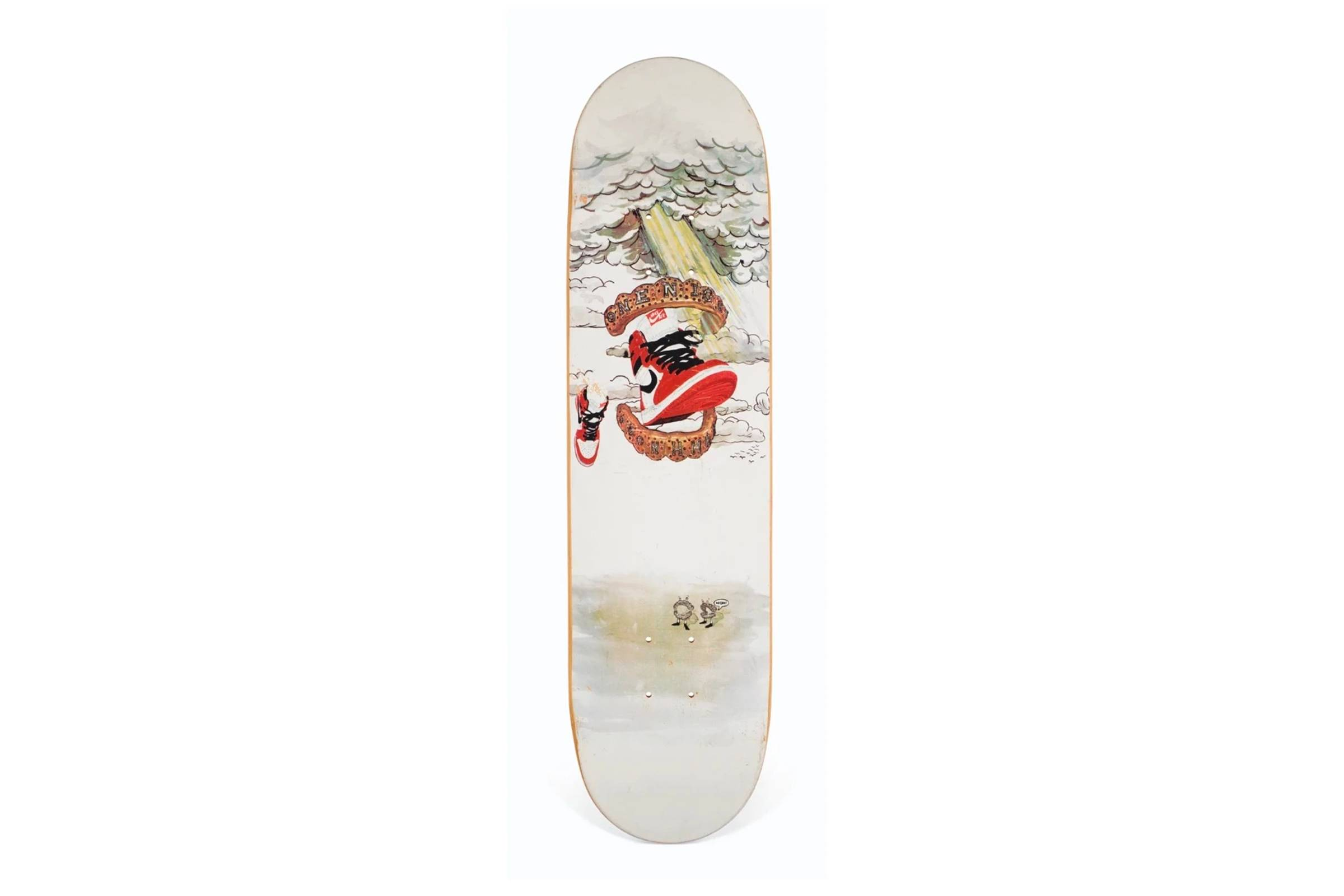 Supreme Skateboard by Dan Colen