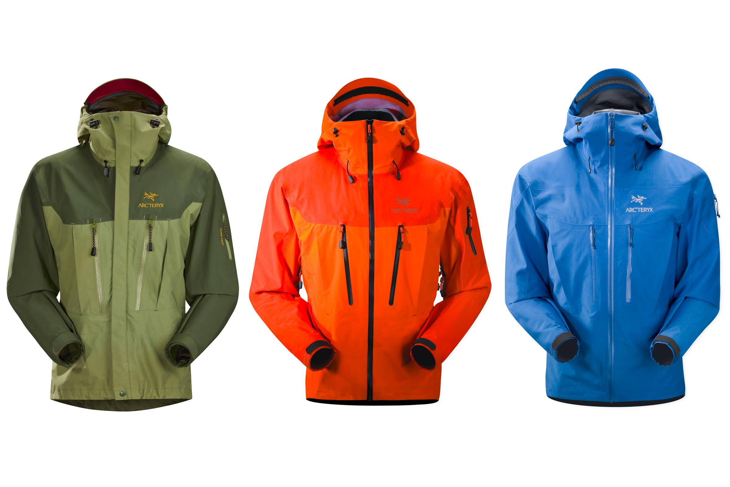 Arc'teryx Alpha SV Releases and Evolution