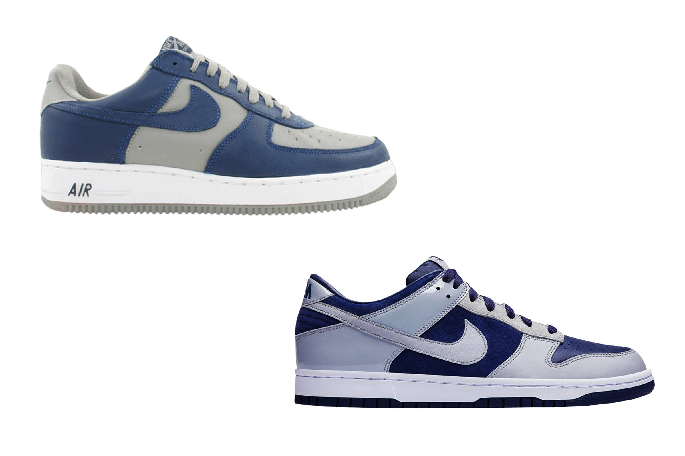 """atmos x Nike Air Force 1 """"Atmos"""" and Dunk Low """"Atmos Mismatched (Japan Pack)"""""""