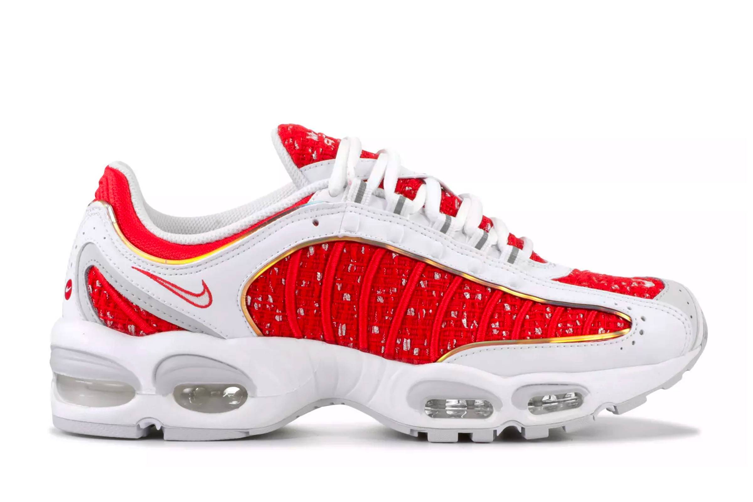 "Supreme x Nike Air Max Tailwind IV ""Red/White"""