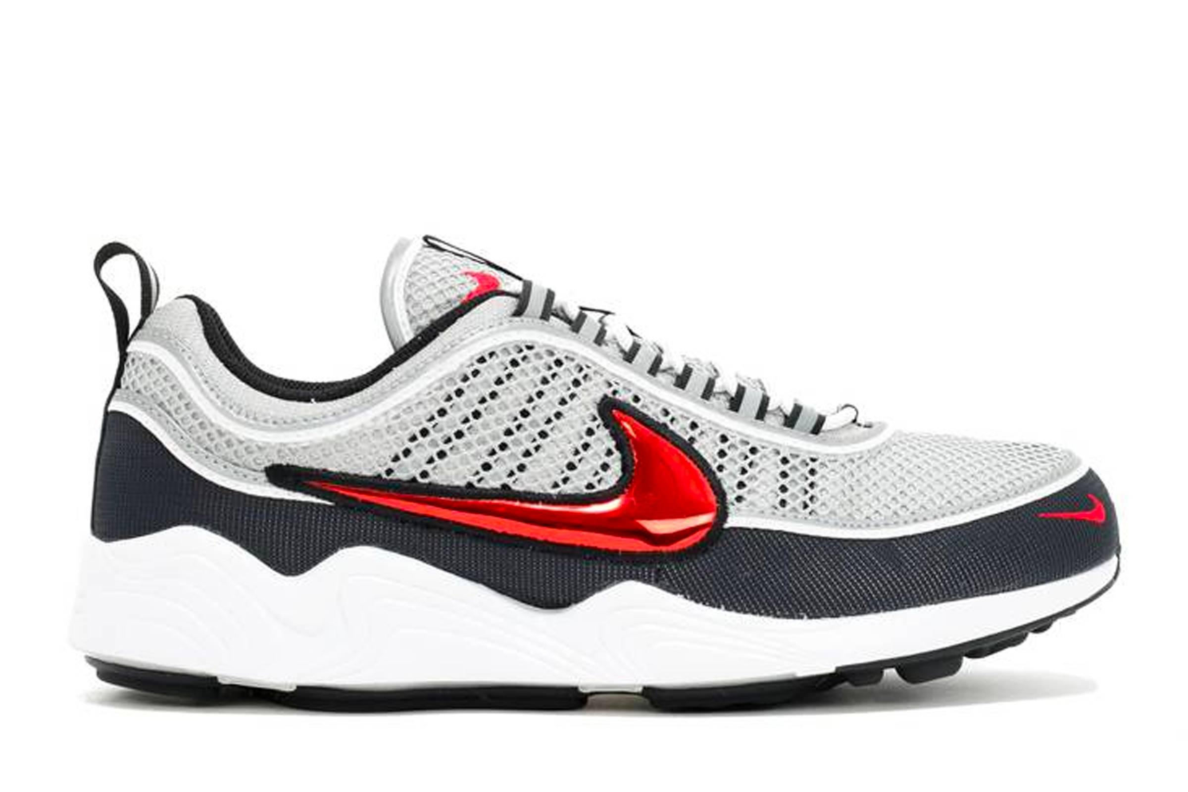 "Nike Air Zoom Spiridon ""Black/Sport Red"""