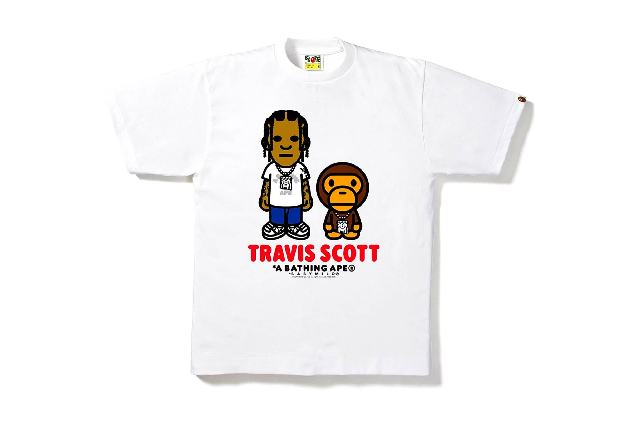 BAPE T-Shirt Collection (2016)