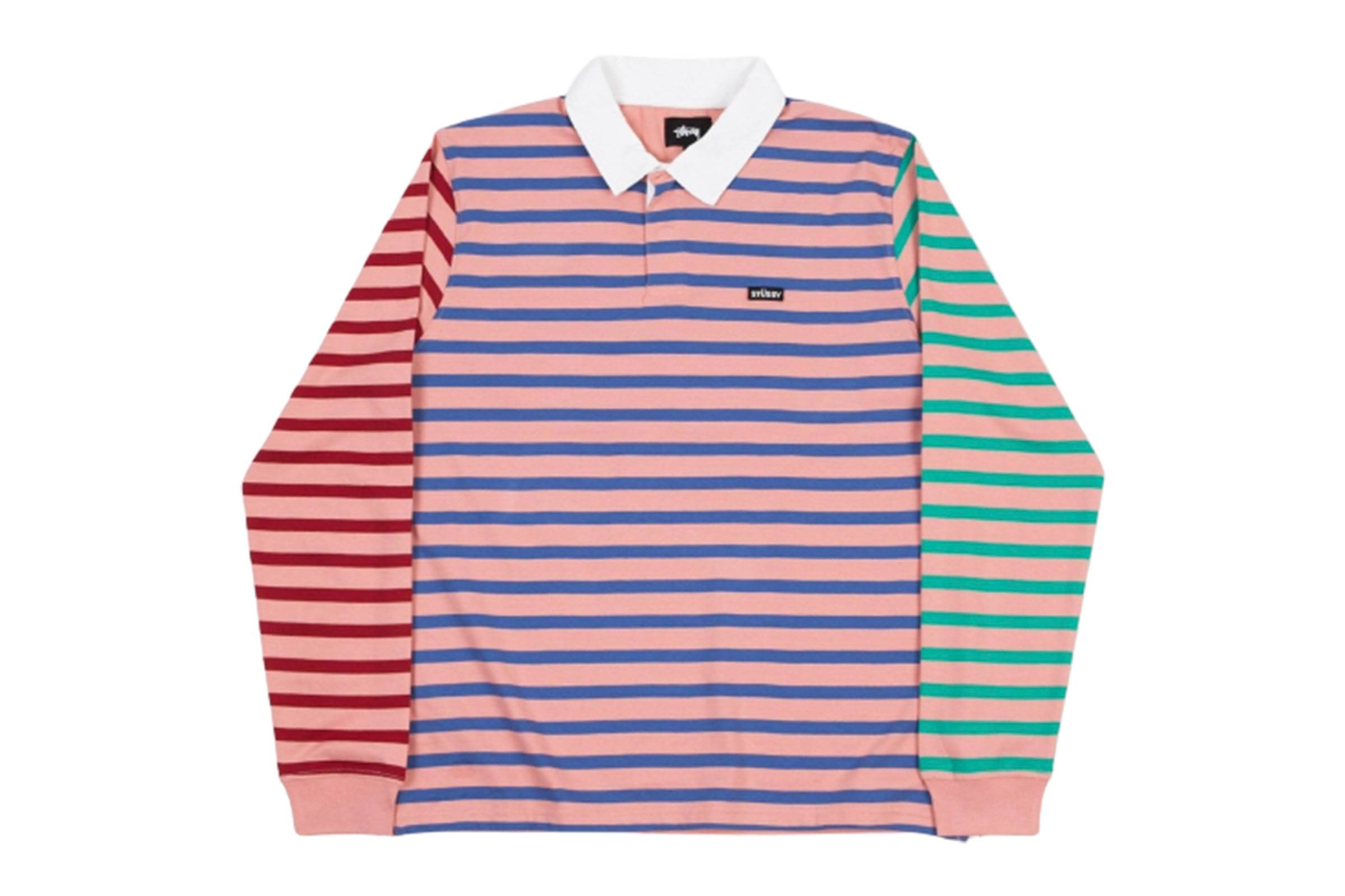 Stussy Jonah Stripe Rugby Shirt