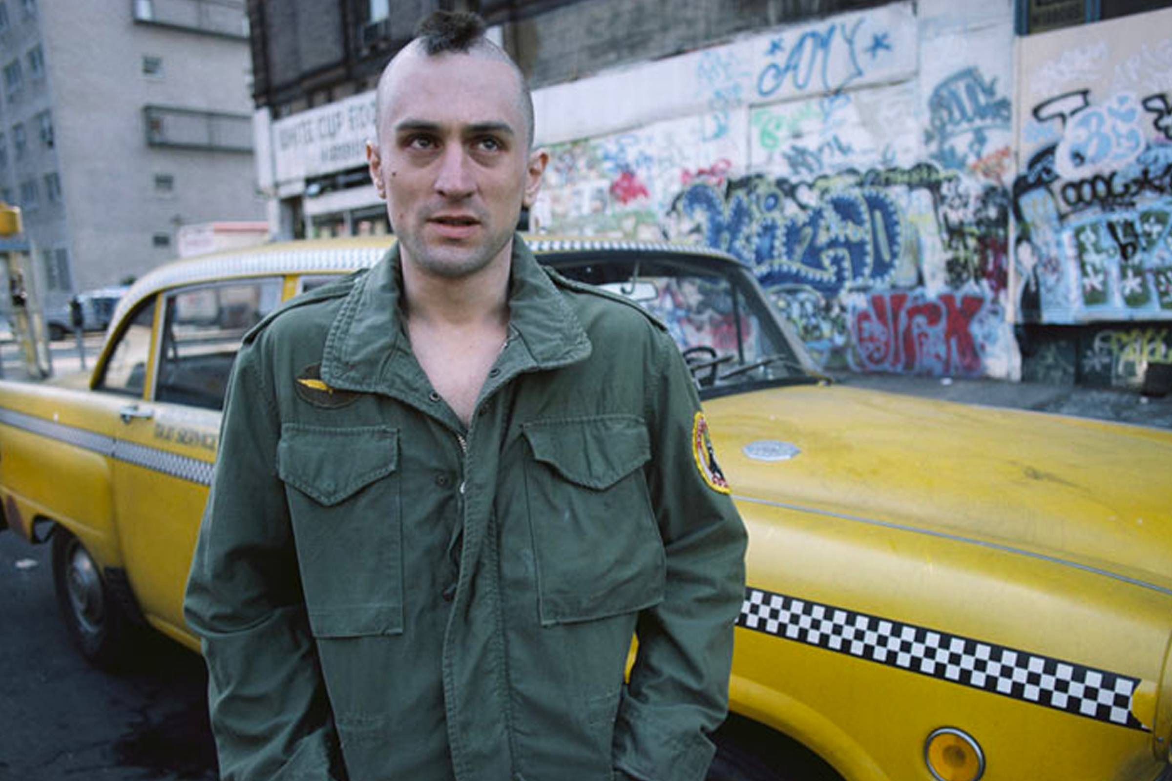 """How """"Taxi Driver"""" Challenged Military Style and the M-65 Jacket"""