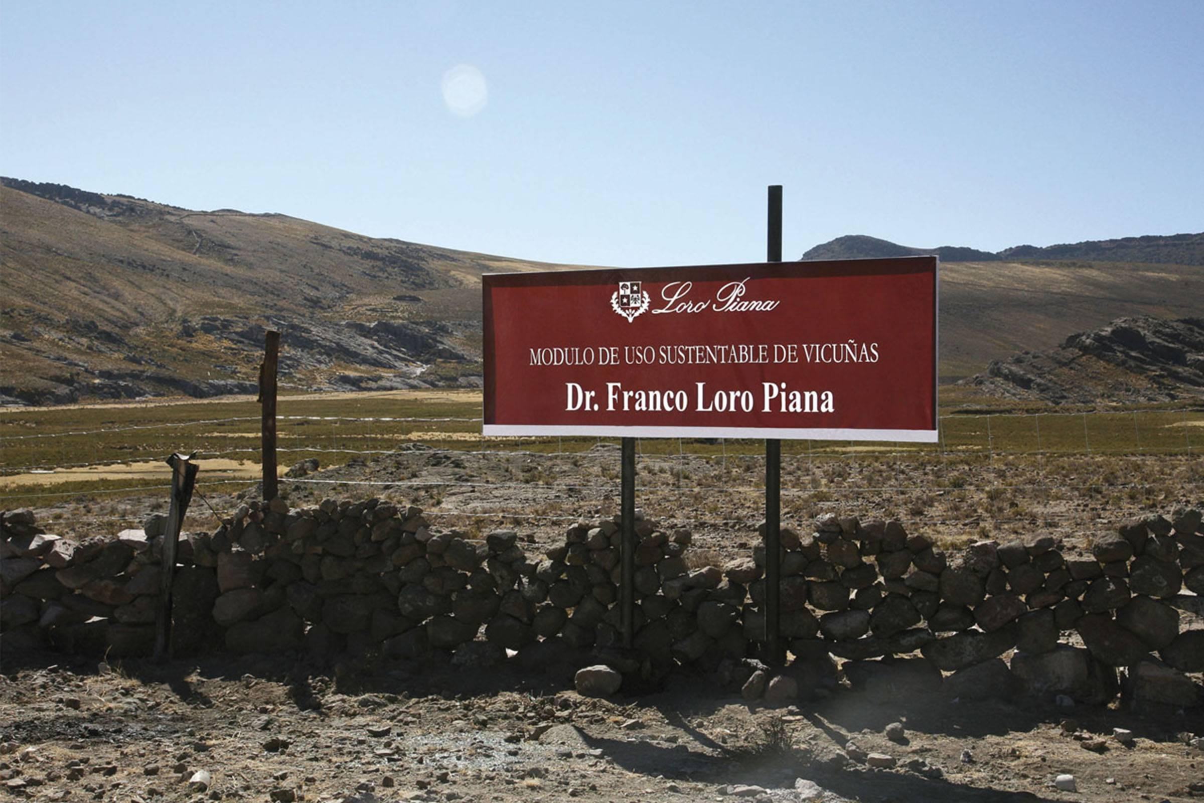 Dr. Franco Loro Piana Reserve in Peru