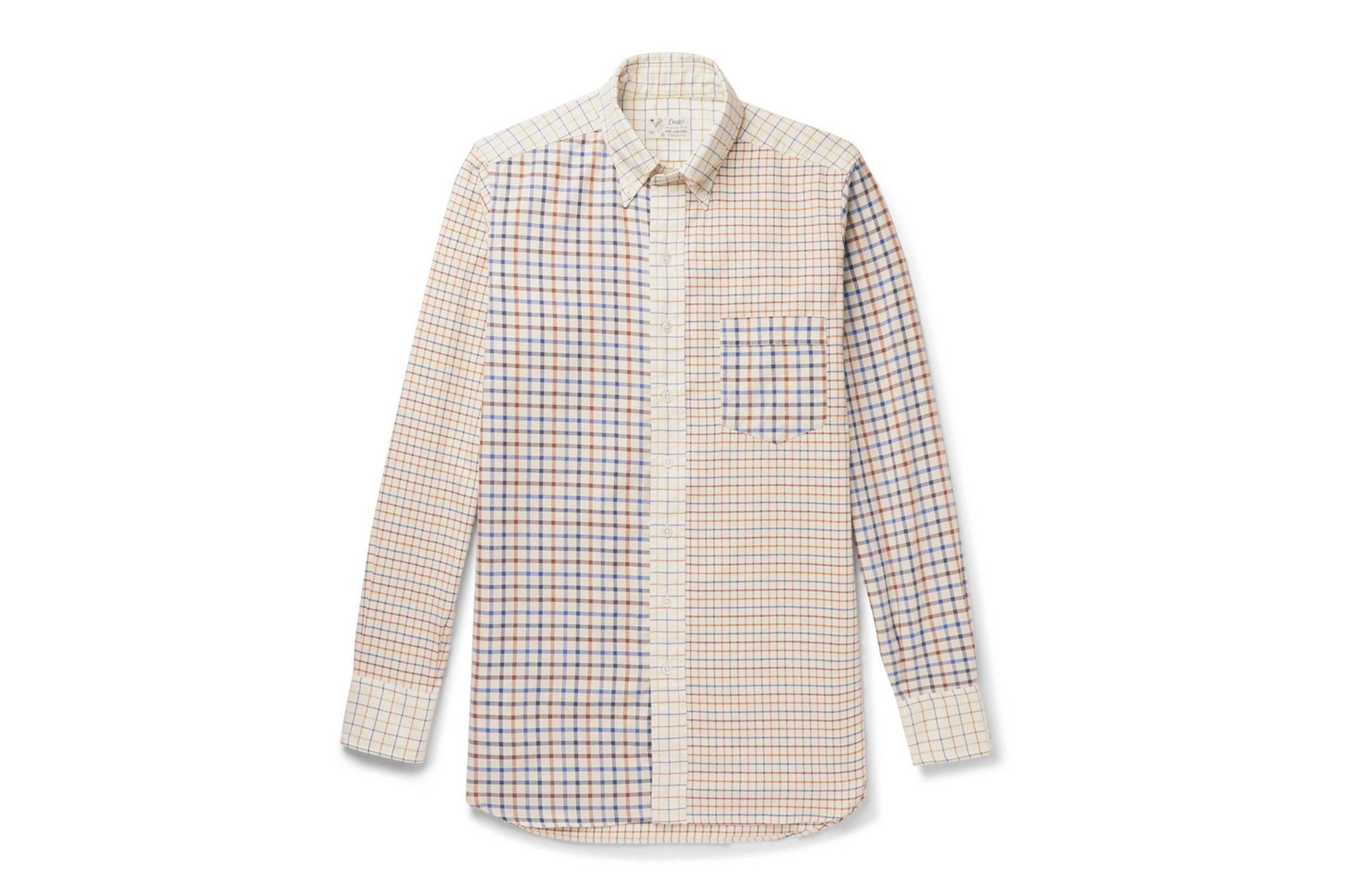 Aimé Leon Dore for Drake's Button-Down Shirt