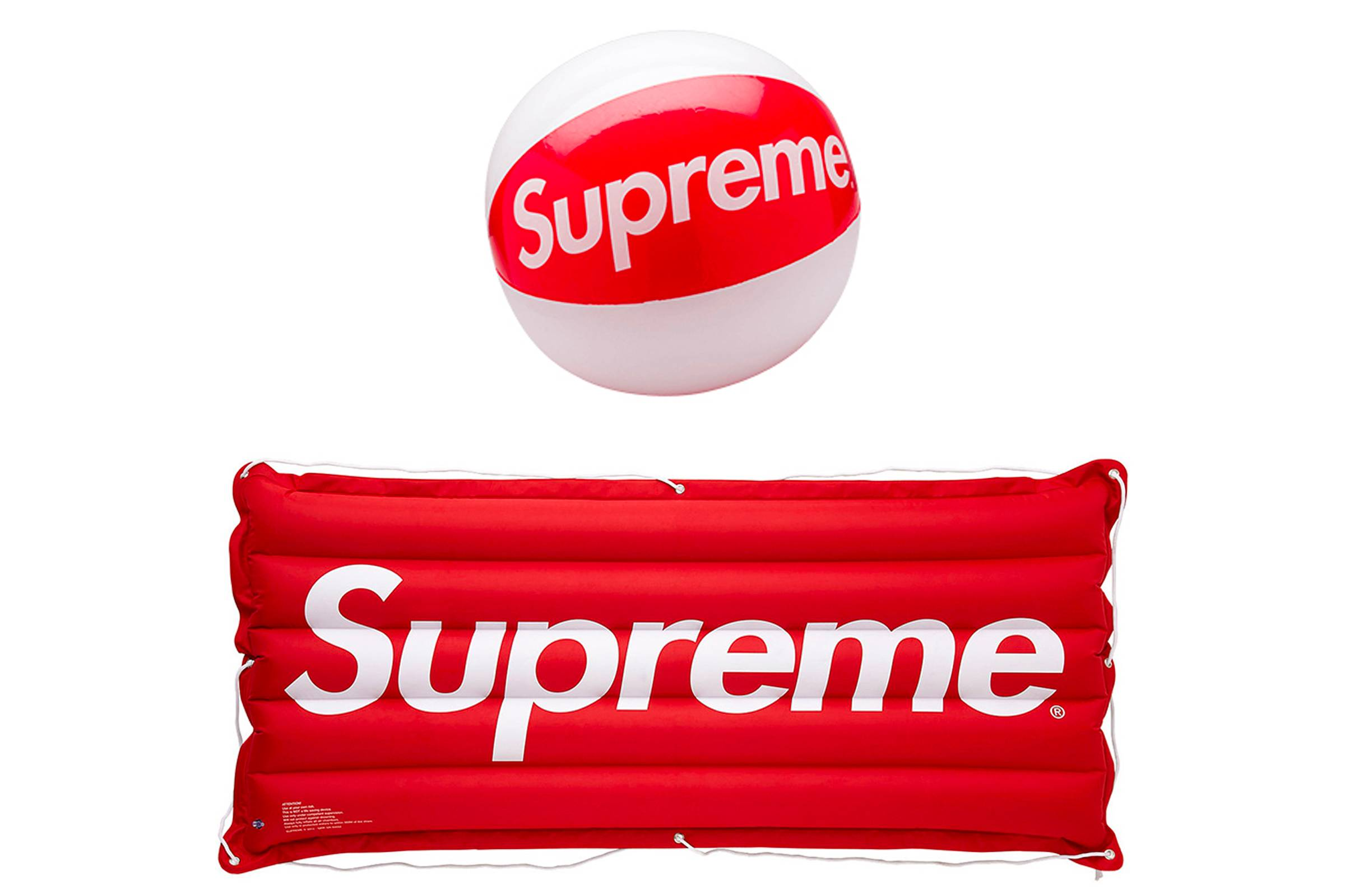 Supreme Beach Ball and Inflatable Raft (Spring/Summer 2013)