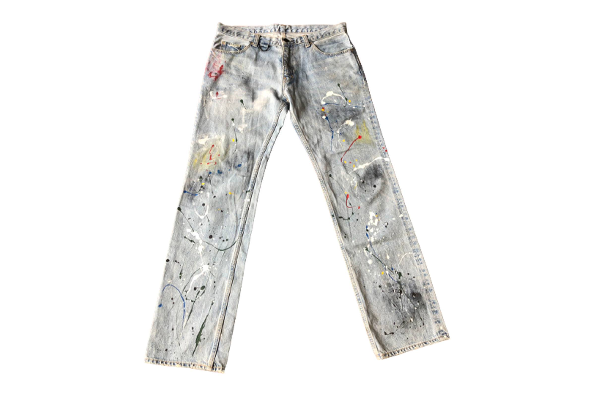 Number (N)ine Spring/Summer 2006 Painter Jeans
