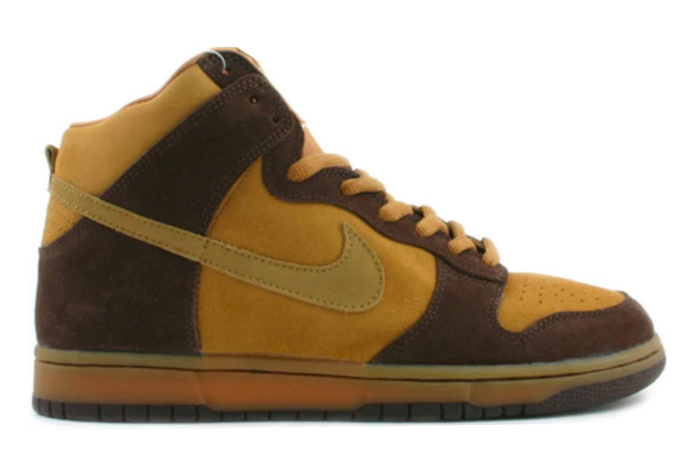 "Nike SB Dunk High ""Brown Pack"""
