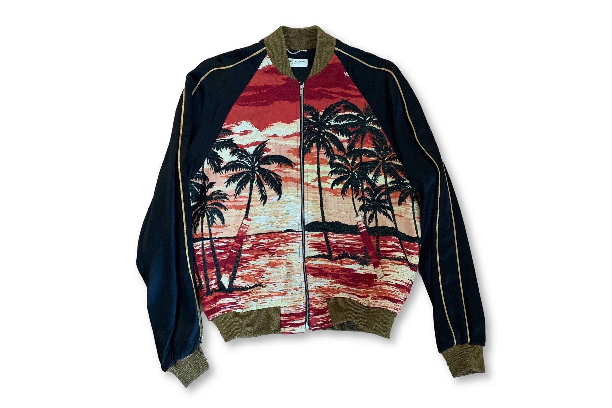 "Saint Laurent Paris ""Surf Sound"" Custom Bomber"