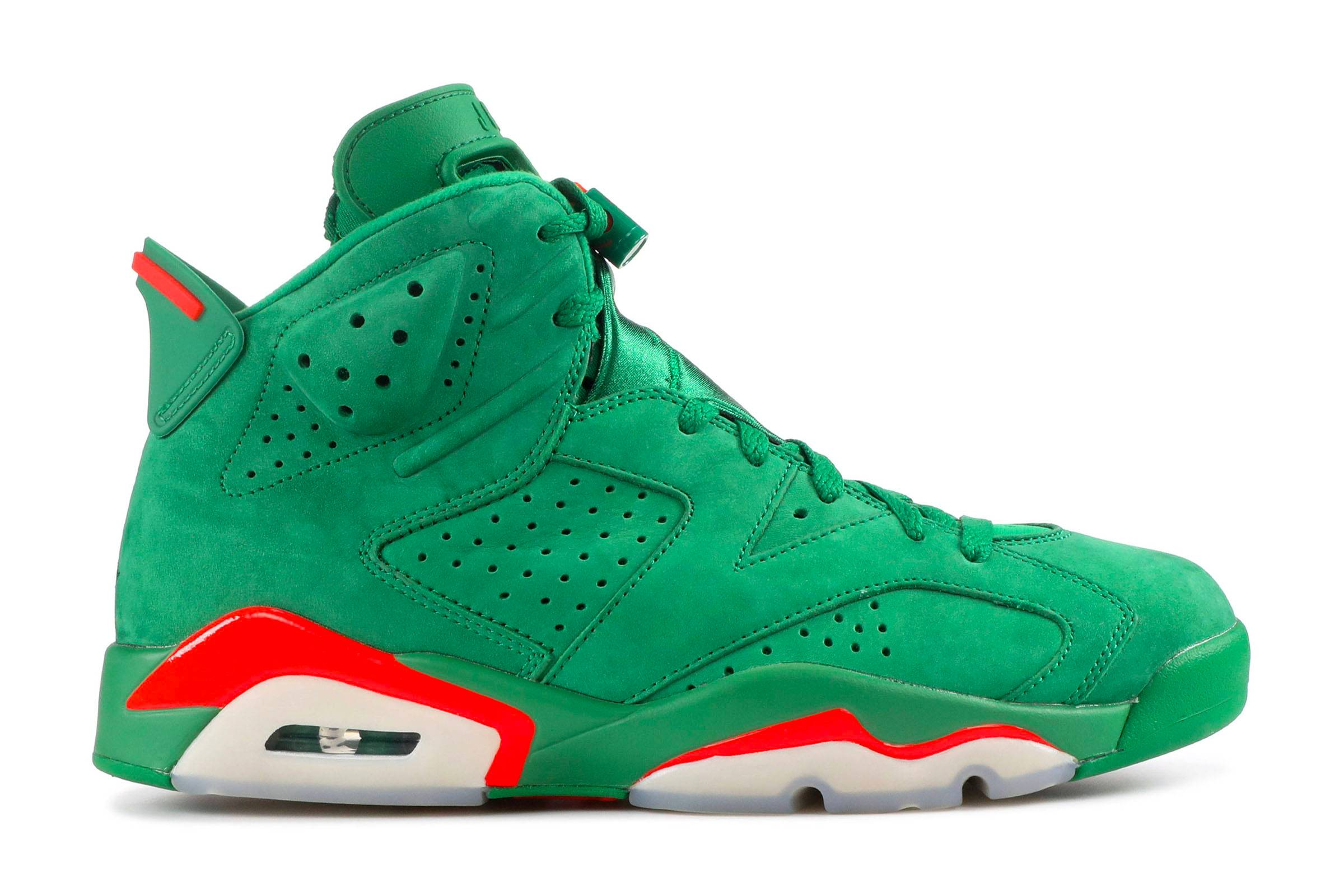 "Gatorade x Jordan VI ""Green Suede"""