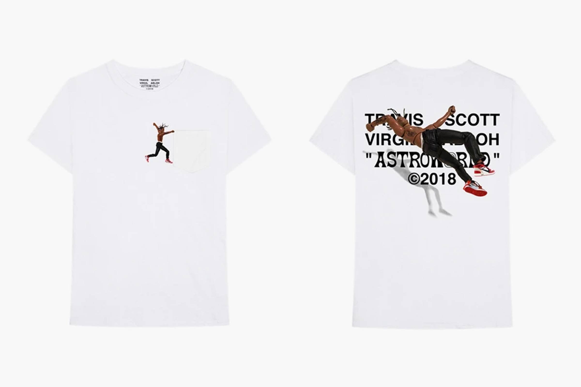 """Virgil Abloh """"By a Thread"""" Tees (2018)"""