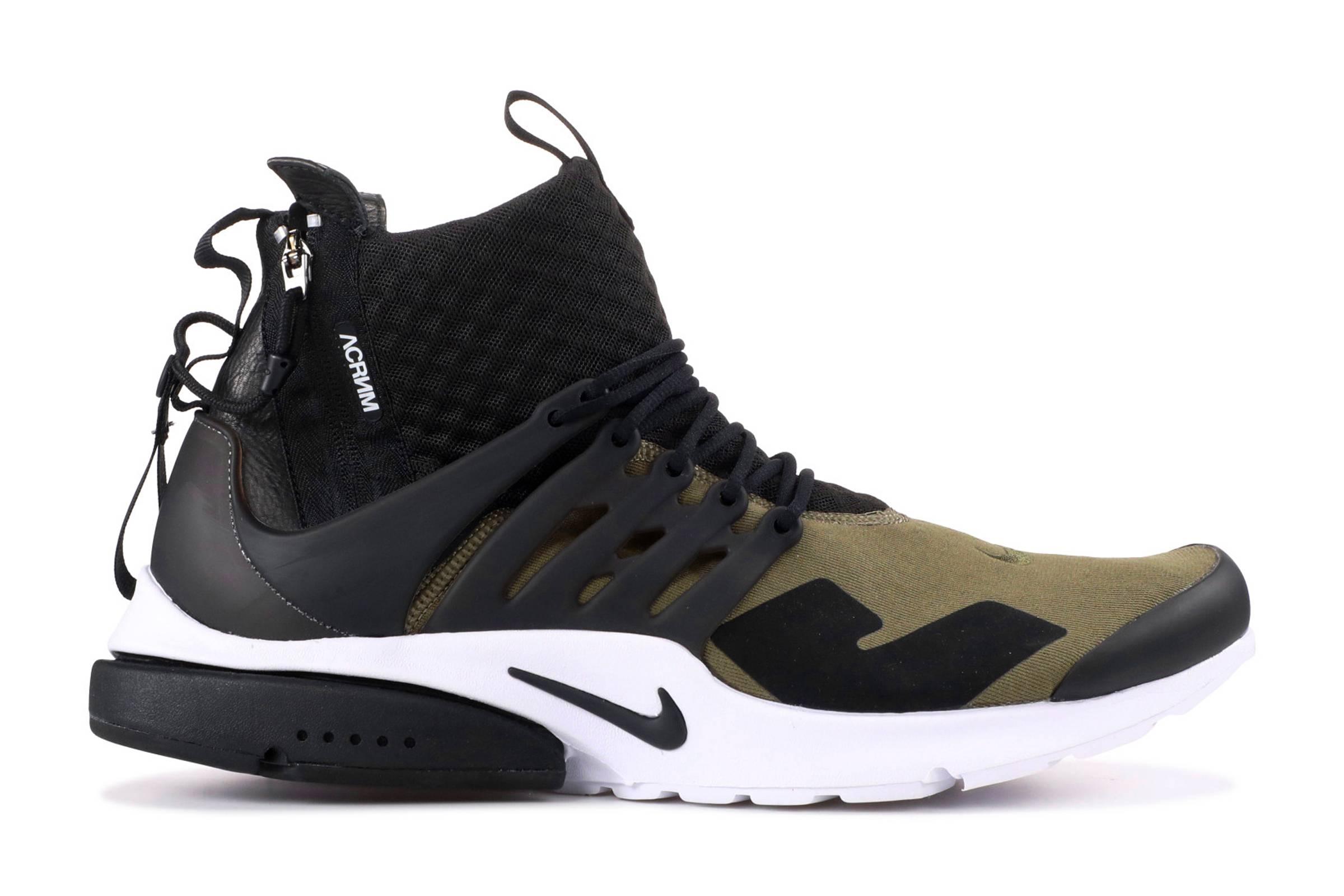 "Acronym x Nike Presto Mid ""Olive/Black"""