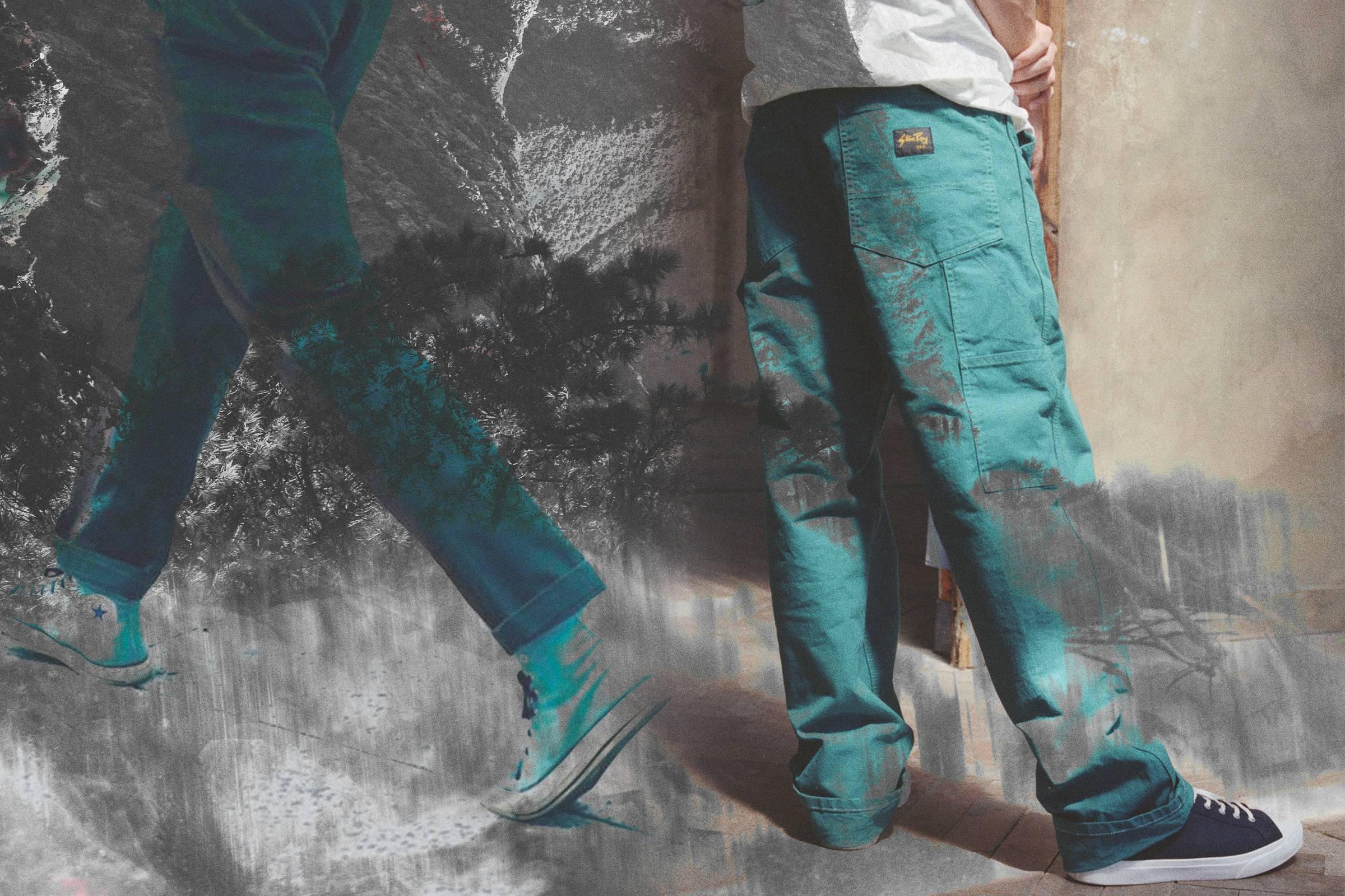 VTG Mens Carhartt Carpenter Trousers Pants Jeans All Sizes//Colours Workwear