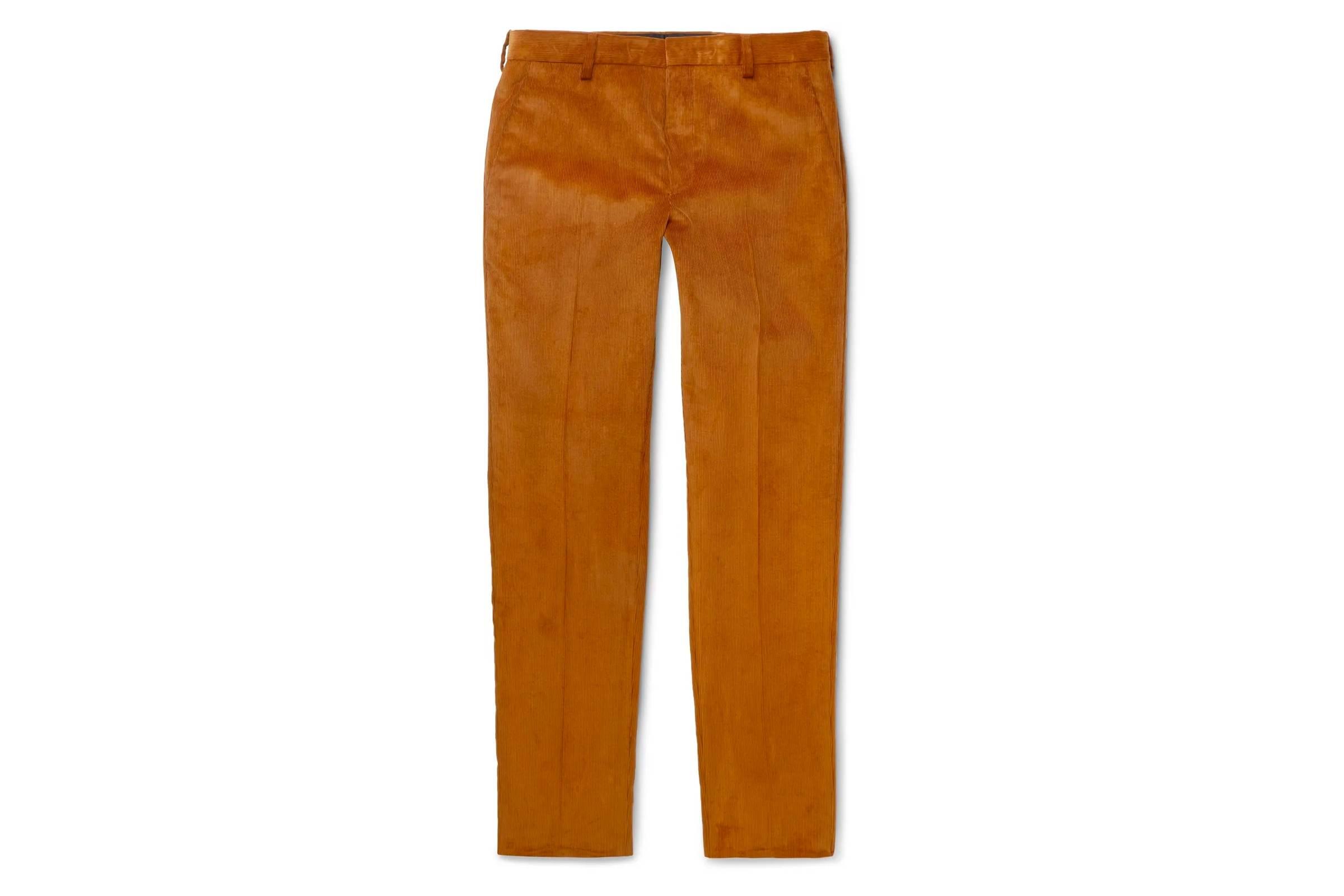 Prada Cotton-Corduroy Trousers