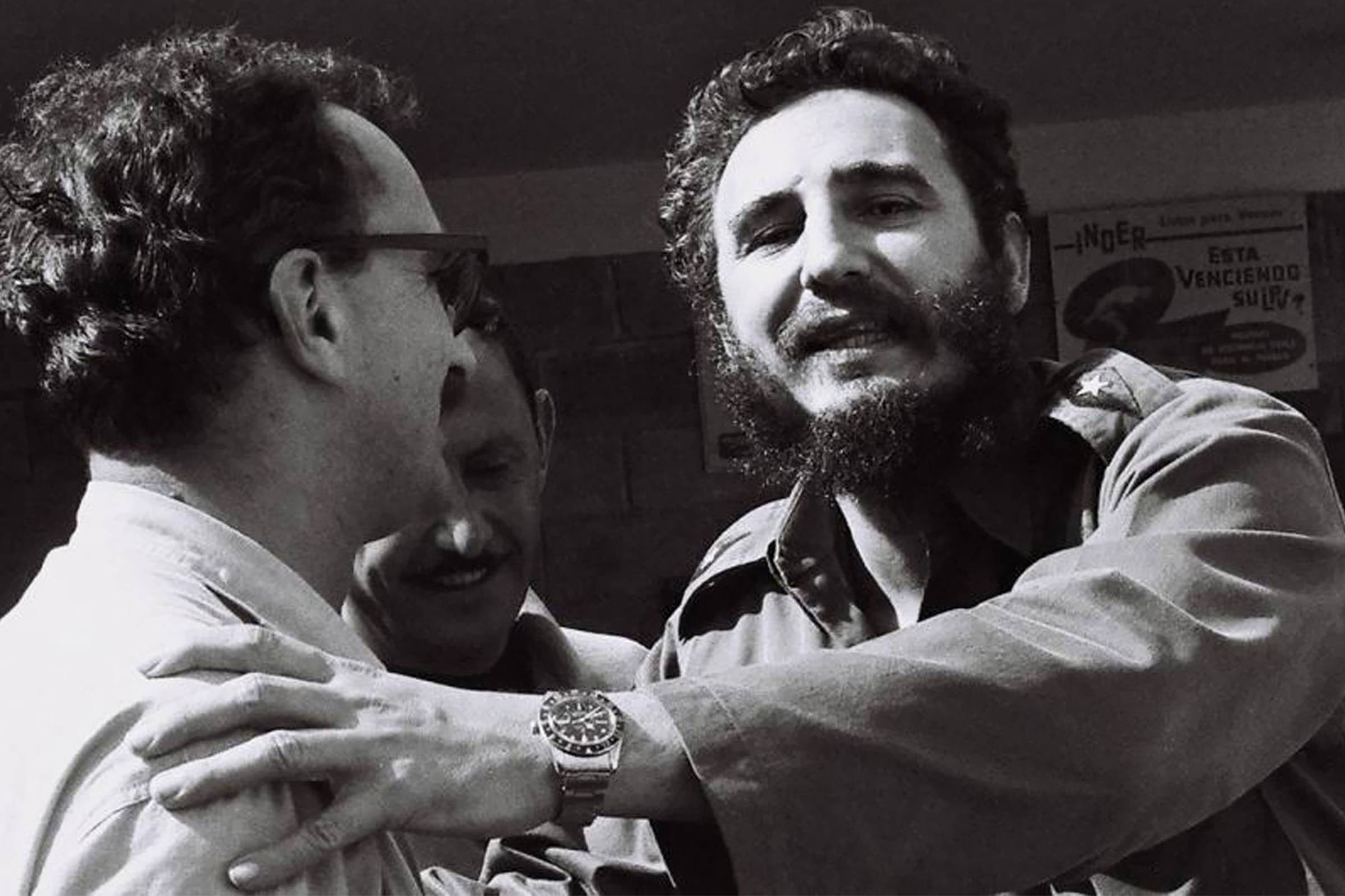 Fidel Castro wearing his Rolex