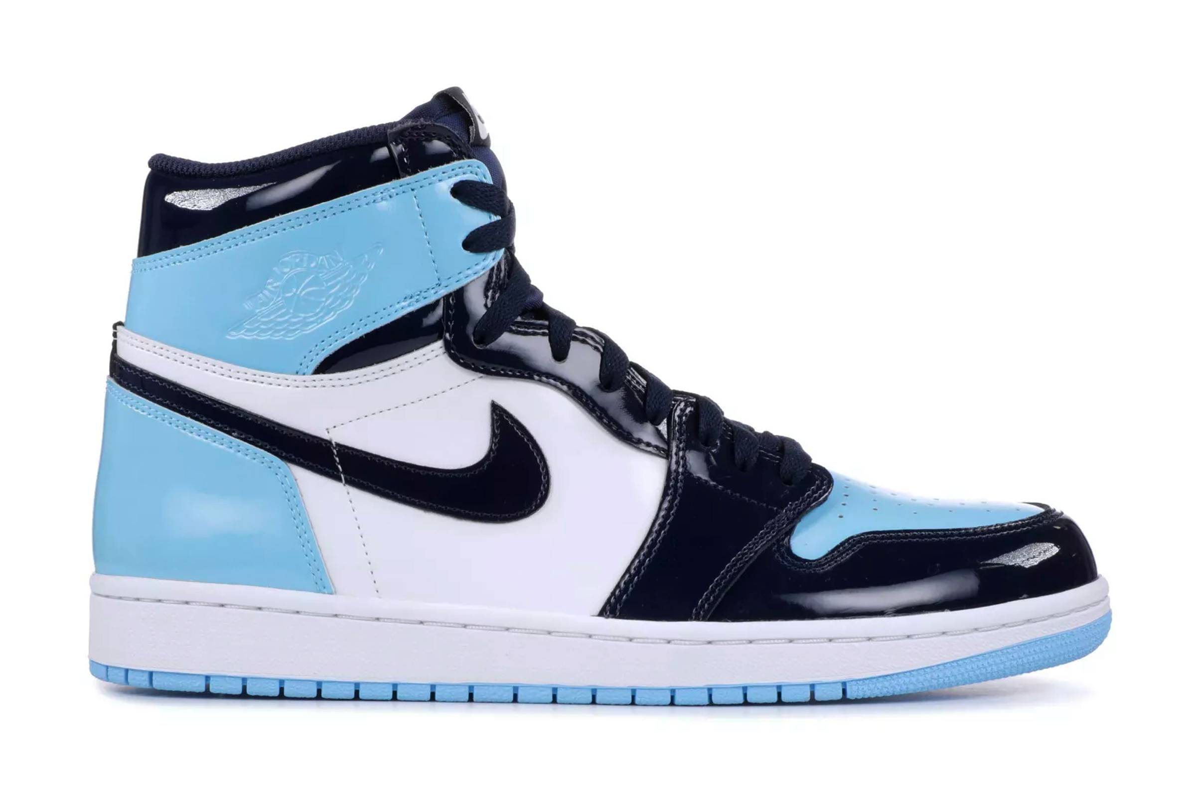 "Air Jordan I Patent ""Blue Chill"""