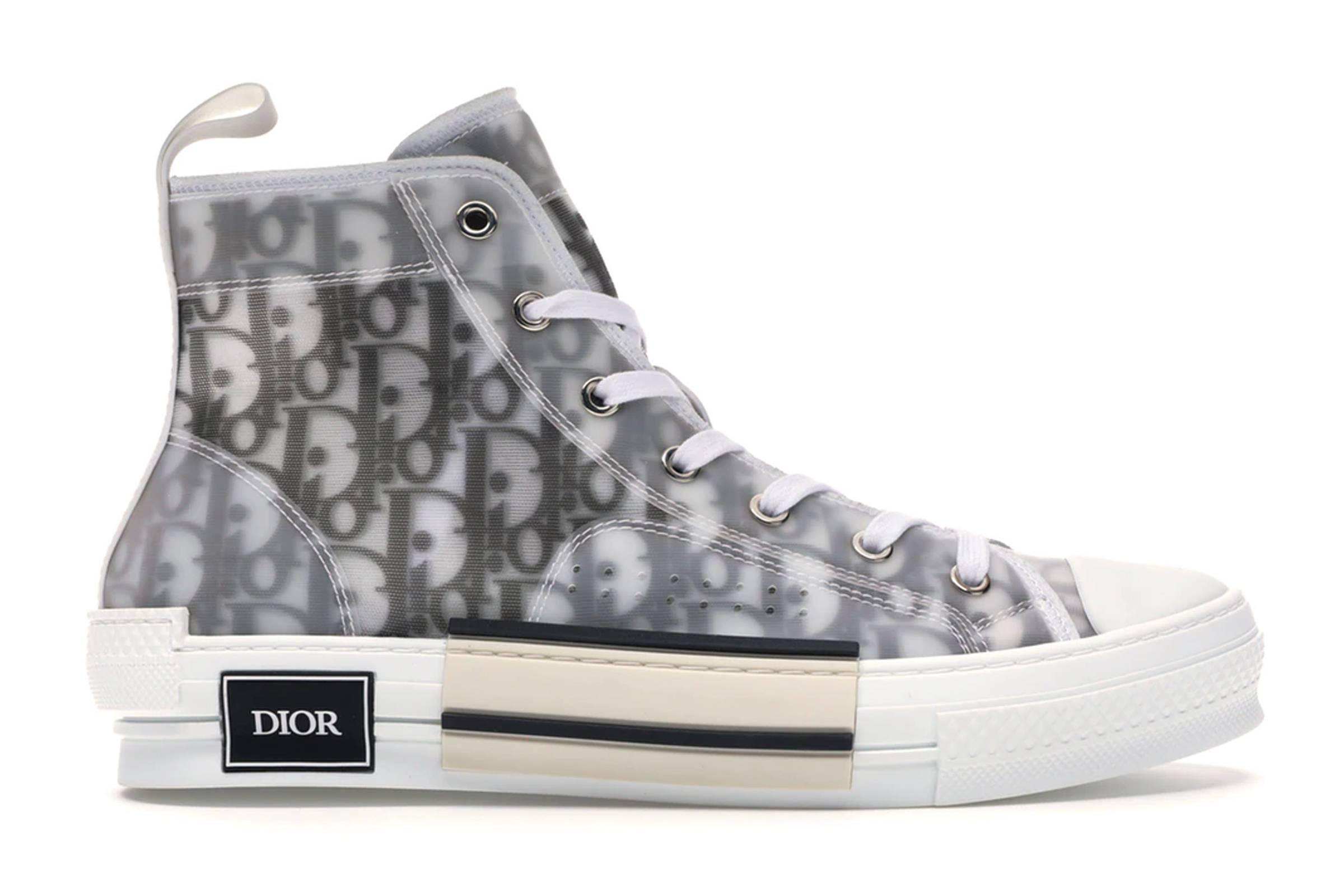 Dior B23 High Top Oblique Sneaker
