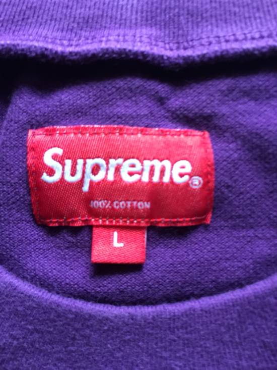 Supreme Small Box Logo Pique Tee Size US L / EU 52-54 / 3 - 2