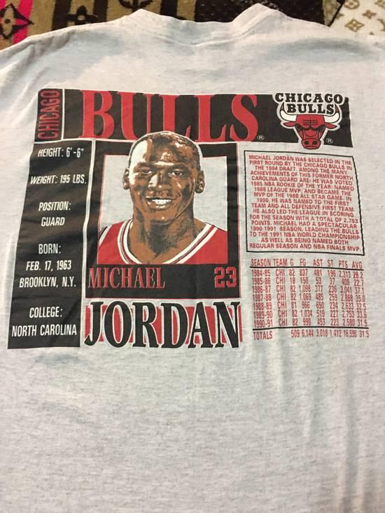 Vintage Vintage Michael Jordan Stats T Size US XL / EU 56 / 4 - 5
