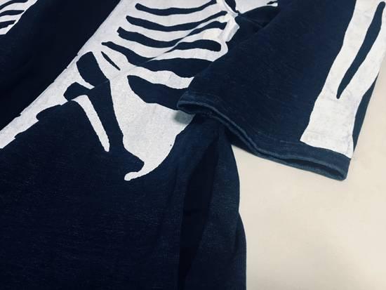 Kapital KAPITAL IDG indigo kakashi cardigan kimono bone Japan 2 Size US M / EU 48-50 / 2 - 6