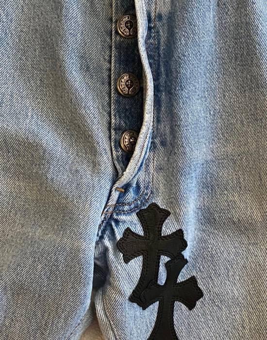 Chrome Hearts Chrome hearts cross patch denim jeans Size US 34 / EU 50 - 8