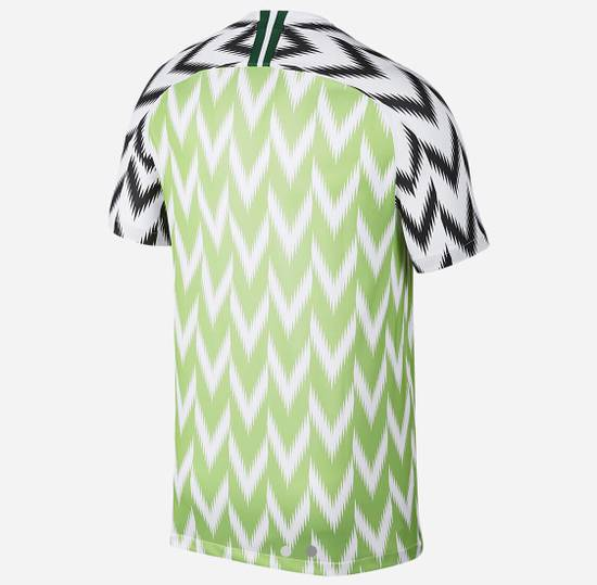 Nike Nigeria Football Soccer World Cup Jersey shirt 2018 Size US S / EU 44-46 / 1 - 6
