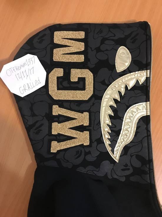 Bape Bape Travis Scott Black & Gold Shark Hoodie Size US M / EU 48-50 / 2 - 1
