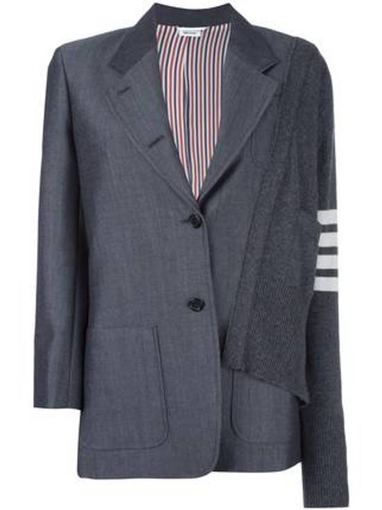 Thom Browne FW16 Runway Reconstructed Blazer Cashmere Cardigan Sweater Size 34S - 14