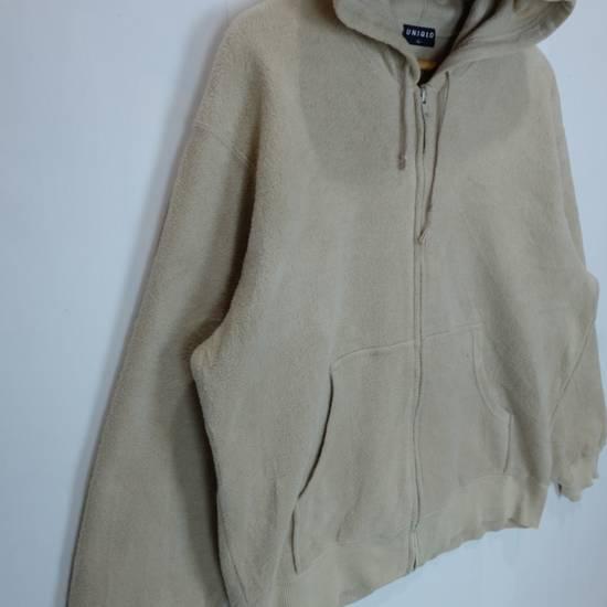 Uniqlo Vintage 90's UNIQLO Zipper Up Fleece Hoodie Sweatshirts Size US L / EU 52-54 / 3 - 2