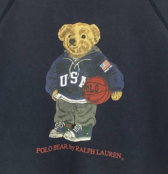 Polo Ralph Lauren Vintage Polo Bear By Ralph Lauren Crew Neck Sweatshirts Big Logo SpellOut Prints Jumper Pullover Sportswear Streetwear Activewear Size US L / EU 52-54 / 3 - 4