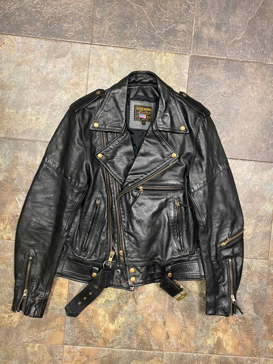 Vanson Leathers Vanson Leather Jacket M 100% Authentic Size US M / EU 48-50 / 2