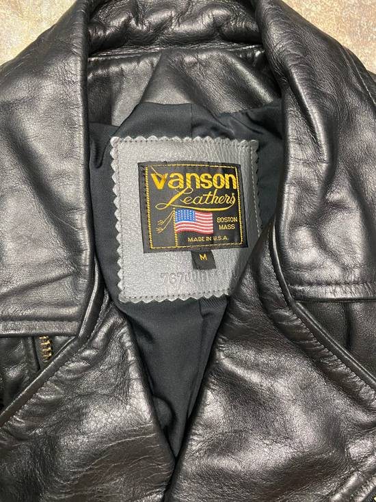 Vanson Leathers Vanson Leather Jacket M 100% Authentic Size US M / EU 48-50 / 2 - 1