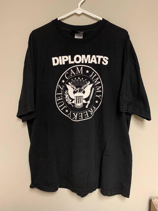 "Reason Reason Clothing x Diplomats ""Ramones"" vintage streetwear 2XL Size US XXL / EU 58 / 5"