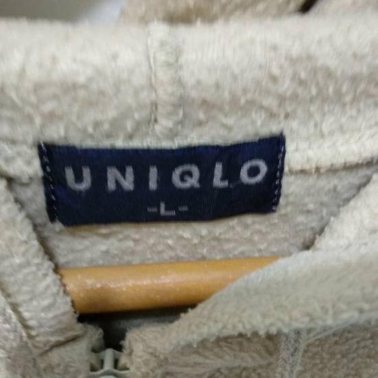 Uniqlo Vintage 90's UNIQLO Zipper Up Fleece Hoodie Sweatshirts Size US L / EU 52-54 / 3 - 8