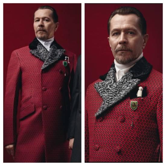 Prada red jacquard coat 2012 fall runway Size US M / EU 48-50 / 2 - 1