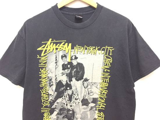 Vintage A piece of History picture New York Crew tee Size US L / EU 52-54 / 3 - 3