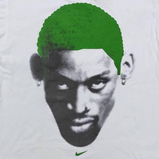 Nike Vintage Nike x Dennis Rodman big logo green head shirt Size US L / EU 52-54 / 3 - 6