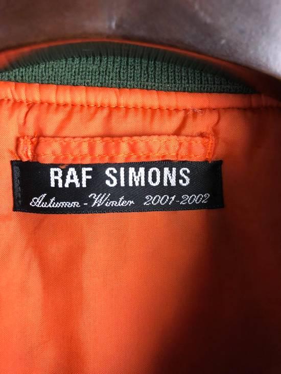 Raf Simons AW 2001 Riot! Riot! Riot! Patched Bomber Size US XXL / EU 58 / 5 - 9