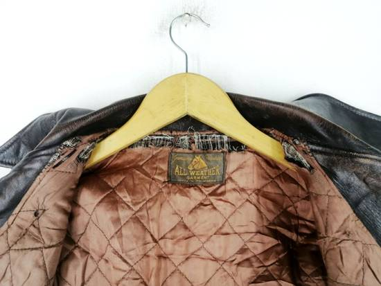 Vintage Vintage Genuine Househide All Weather Garment Jacket Size US M / EU 48-50 / 2 - 9