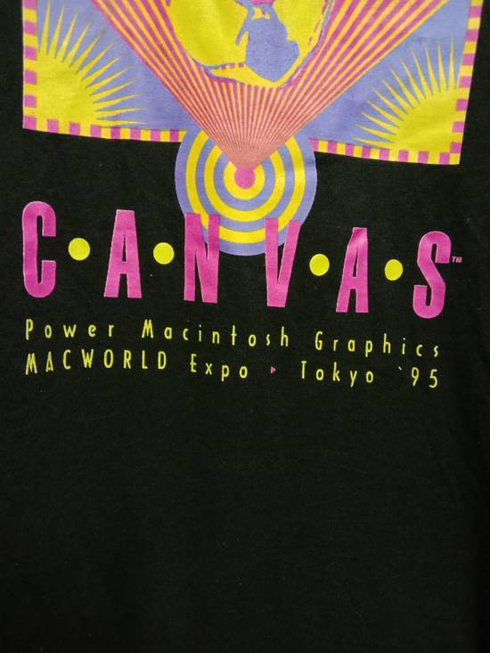 Vintage VTG '95 Single Stitch Apple Macintosh t-shirt Size US L / EU 52-54 / 3 - 1